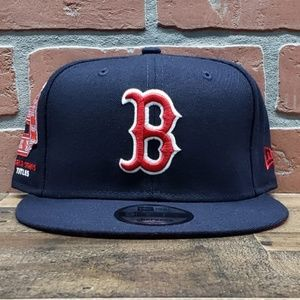 Mens New Era Boston Red Sox Series 9Fifty